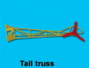 Tail truss - Heckausleger