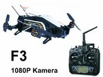 Furious 320 F3 Flightcontroller RTF Devo 10 transmitter - 1080P camera