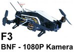 Furious 320 F3 Flightcontroller BNF without transmitter - 1080P camera