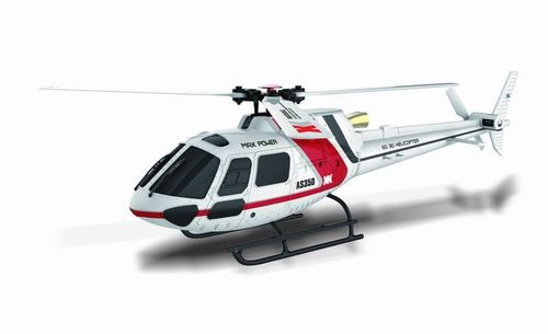K123 AS350 6 channel 3D6G Flybarless Helicopter RTF - Customer Returns