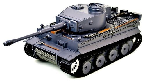 Henglong RC Panzer German Tiger I mit Rauch, Sound + Schussfunktion