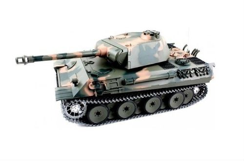 Henglong RC Panzer German Panther mit Rauch, Sound + Schussfunktion
